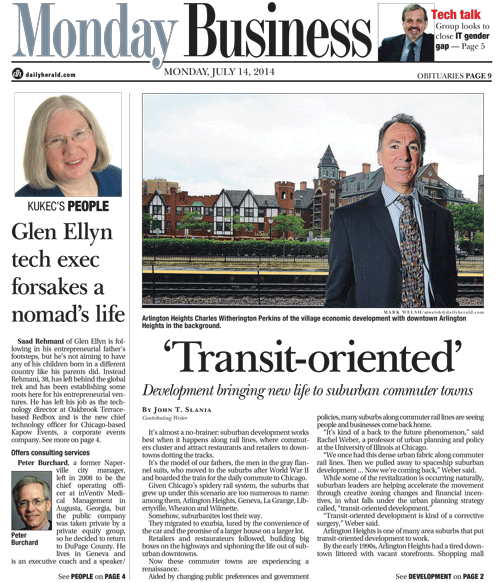 Monday Business publishes every monday
