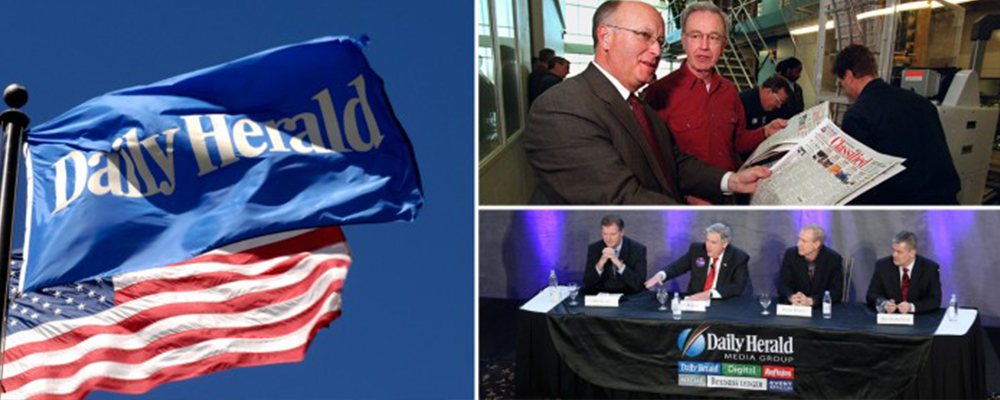 Daily Herald flag GOP debate
