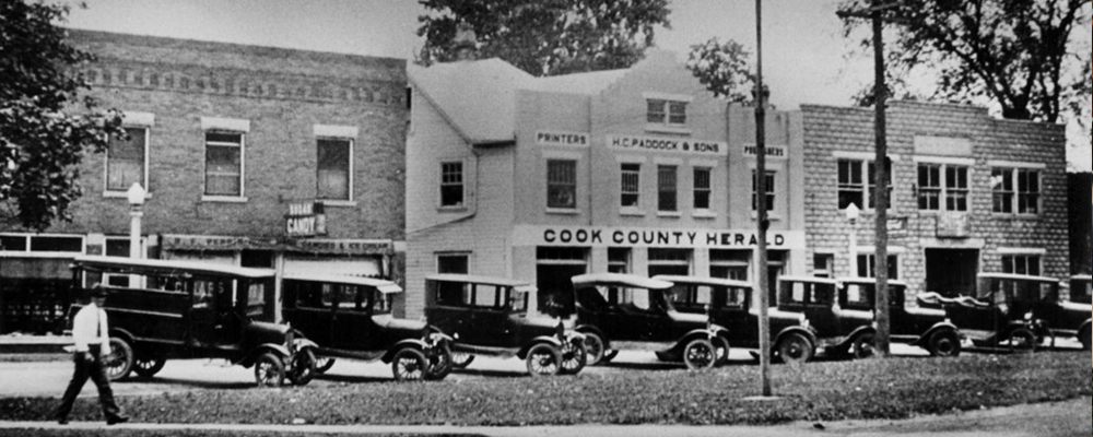 Model T Daily Herald history