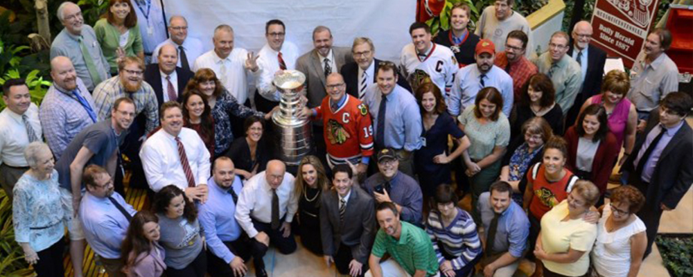 Stanley Cup visits Daily Herald