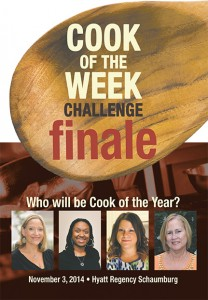 Event program Cook of the Week
